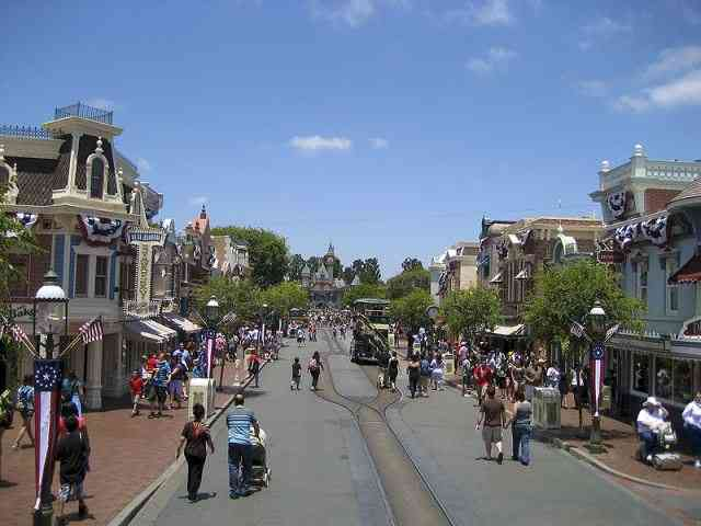 travel to Disneyland.