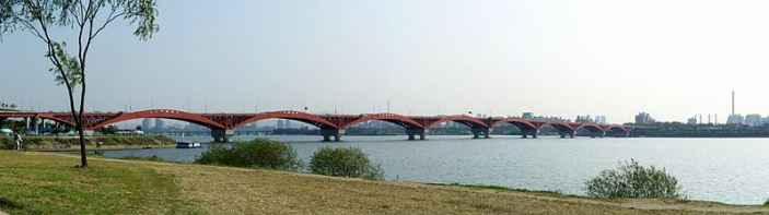 Seongsan Bridge over Han River