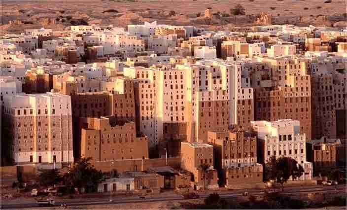 Mud Skyscrapers in Shibam, Yemen