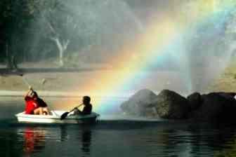 rainbow luck or karma